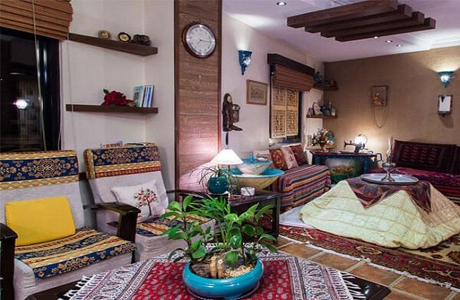 دکوراسیون ایرانی سنتی منازل
