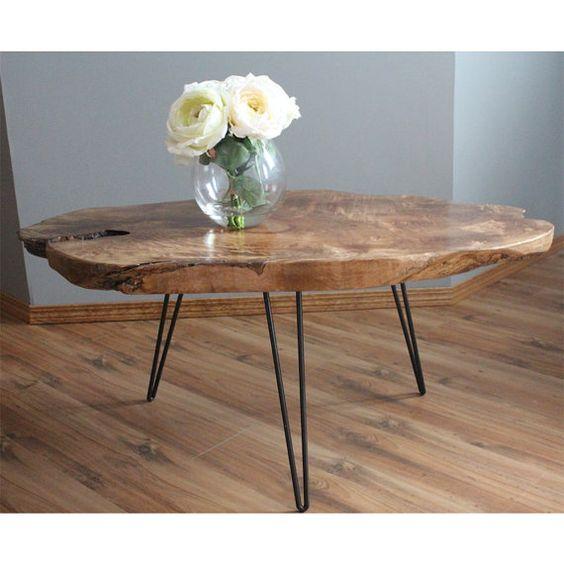 قیمت میز چوبی با پایه فلزی