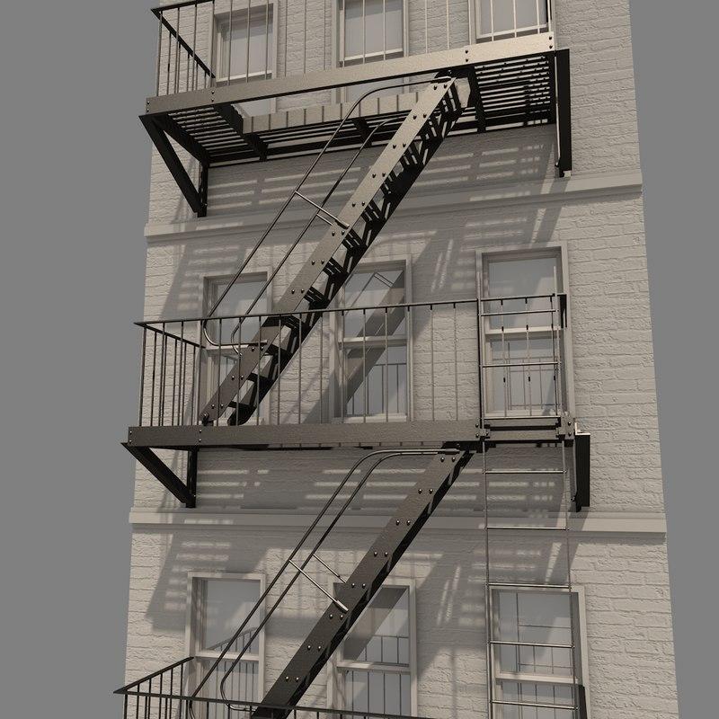 ضوابط پله فرار