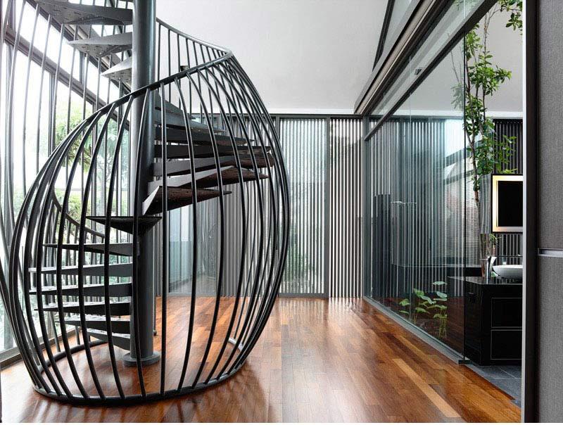 پله گرد آهنی