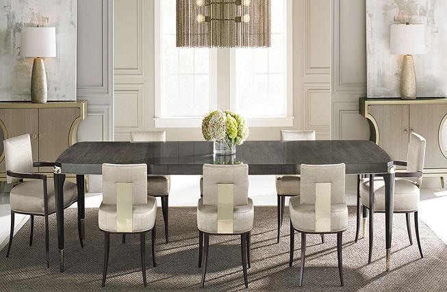 میز وسط و ناهار خوری فلزی