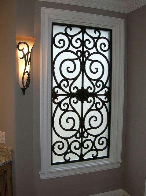 نمونه حفاظ پنجره فرفوژه