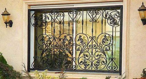مدل حفاظ پنجره فرفوژه