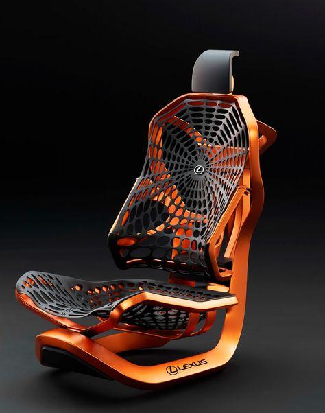 صندلی فلزی جالب