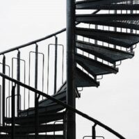 پله دو محوره در طالقان کرج